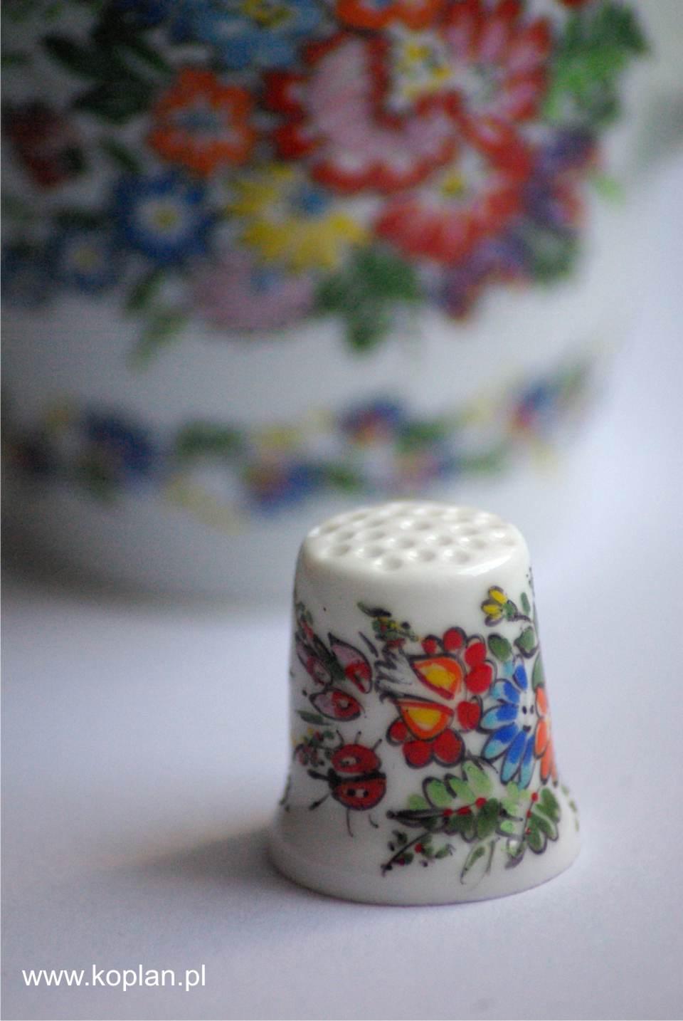 2a_  Naparstek porcelanowy Koplan