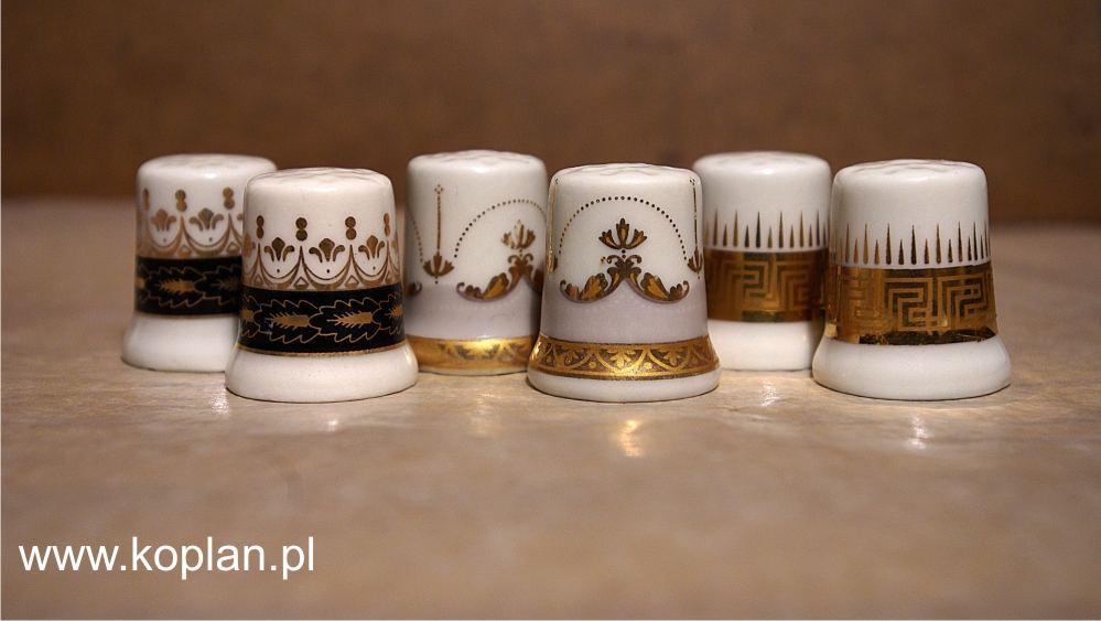 3_  Naparstek porcelanowy Koplan