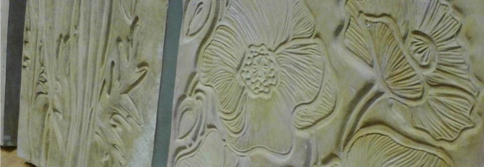 Pierwsze formy – Maki dekoracyjne płytki ścienne