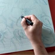 Nowy projekt – Maki  (dekoracyjne płytki ścienne z reliefem)
