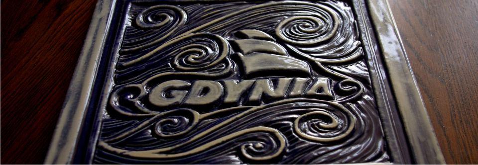 Ceramiczne płytki z reliefem – Gdynia