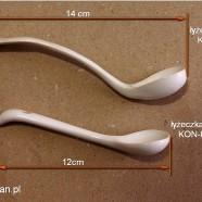 Łyżeczka ceramiczna (12 cm, 14 cm)