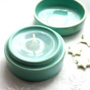 Ceramiczne pojemniki na świece
