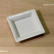Kwadratowy talerzyk (10 x 10 cm)