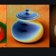 Ceramiczny pojemnik na miód